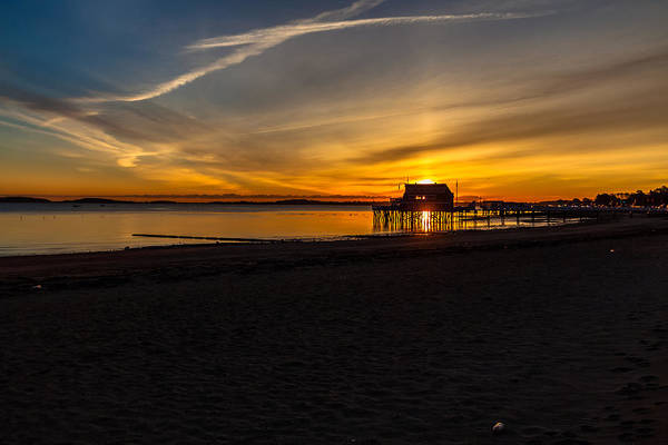 Photograph - Wollaston Beach Sunrise 2 by Brian MacLean