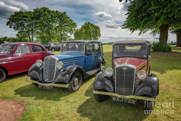 Wall Art - Photograph - Wolseley Motors by Adrian Evans