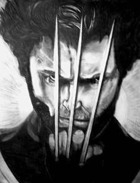 Wolverines Drawing - Wolverine by Ecco Foster-Herne