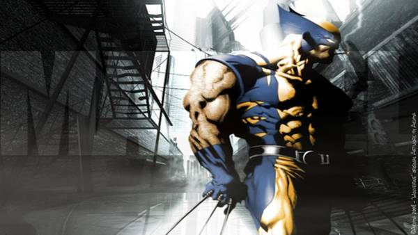 Sports Digital Art - Wolverine by Super Lovely