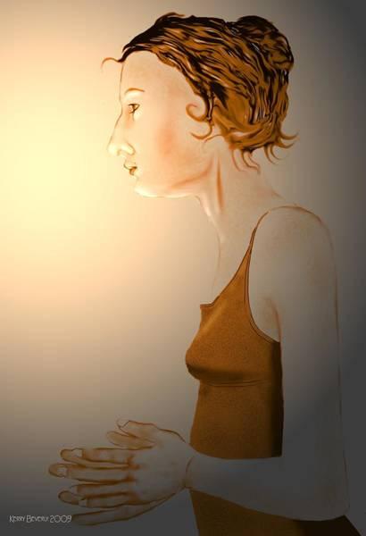 Woman 15 Art Print