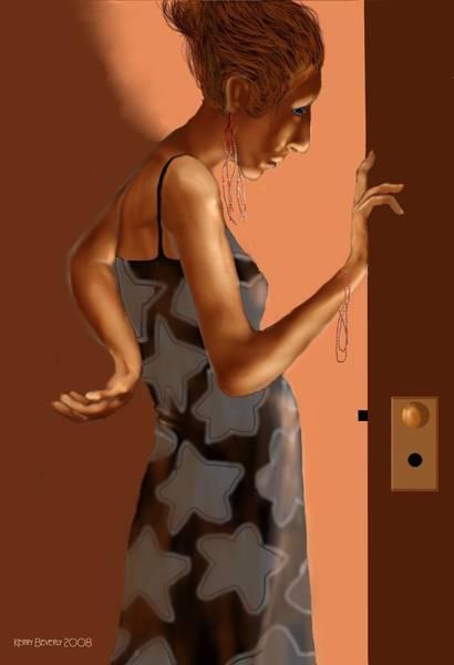 Woman 37 Art Print