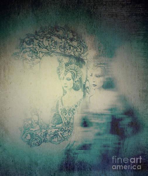 Digital Art - Woman Ghost  by Ariadna De Raadt