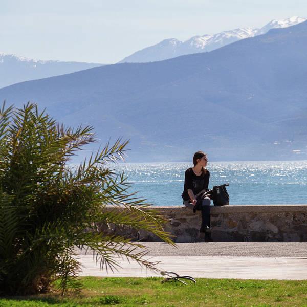 Wall Art - Photograph - Woman In Black by Iordanis Pallikaras