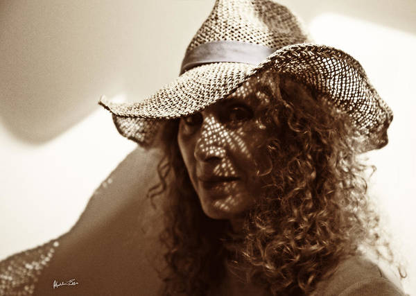 Wall Art - Photograph - Woman In Hat 2 by Madeline Ellis