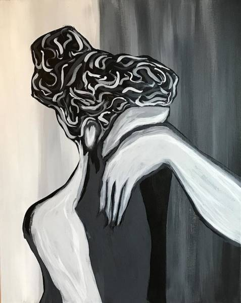 Wall Art - Painting - Woman In Mourning by Willy Proctor
