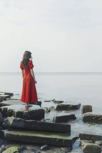 Wall Art - Photograph - Woman In Red Dress by Joana Kruse