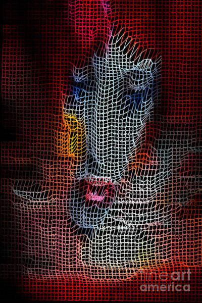 Digital Art - Woman In Red by Rafael Salazar