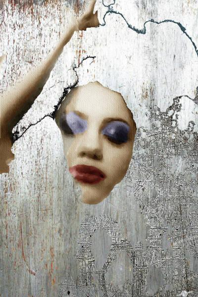 Mixed Media - Woman In Steel by Tony Rubino