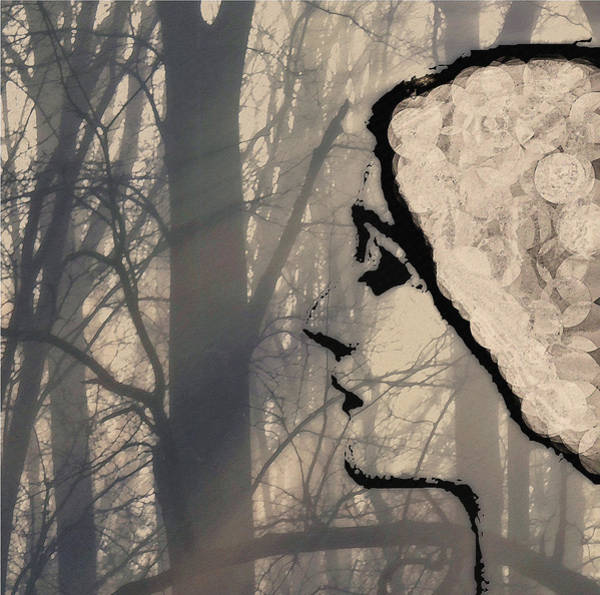 Photograph - Woman In The Forest by Bill Cannon