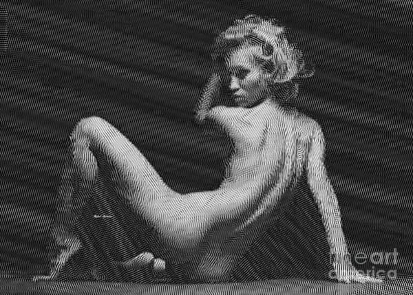 Digital Art - Woman by Rafael Salazar