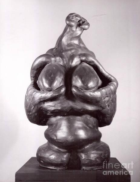 Sculpture - Woman by Robert F Battles