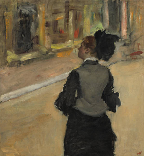 Painting - Woman Viewed From Behind by Edgar Degas