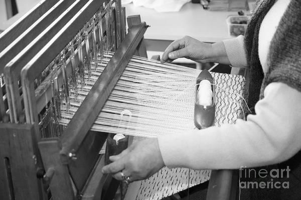 Acores Photograph - Woman Weaving by Gaspar Avila