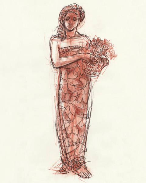 Woman With Turban Art Print