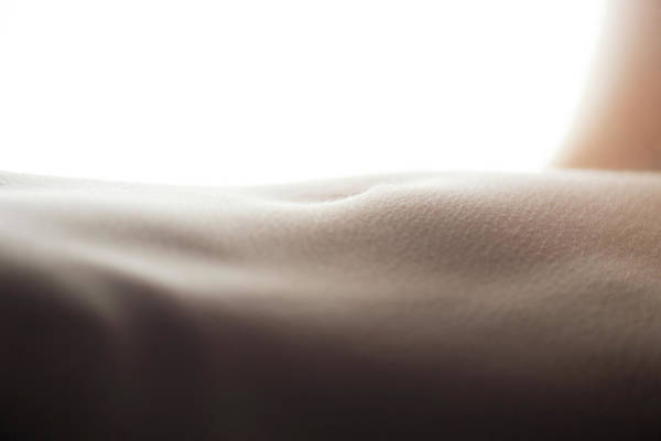 Photograph - Womans Stomach by Michael Maximillian Hermansen