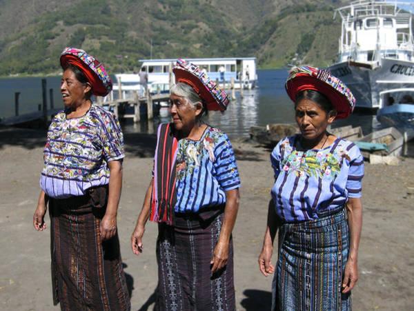 Photograph - Women Of Santiago Atitlan Guatemala by Kurt Van Wagner