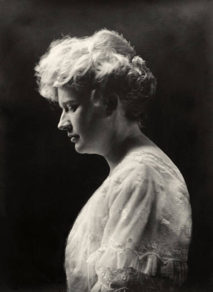 Photograph - Womens Hairstyle, C1900 by Granger