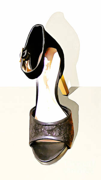 Photograph - Womens High Heel Stiletto Shoes 20160227 Vertical by Wingsdomain Art and Photography