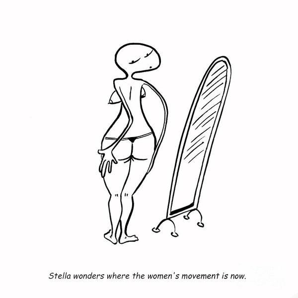 Feminist Digital Art - Women's Movement by Leanne Wilkes
