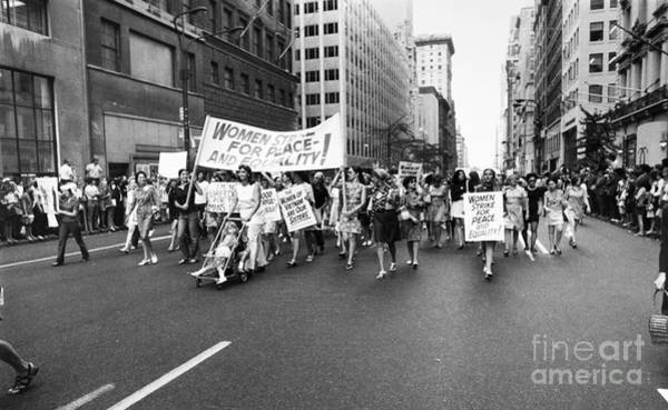 Photograph - Womens Rights, 1970 by Granger