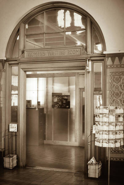 Photograph - Women's Waiting Room by Samuel M Purvis III