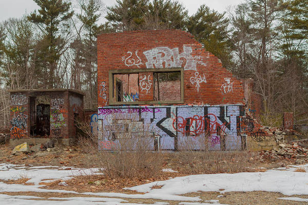 Photograph - Wompatuck Abandoned Buildings by Brian MacLean
