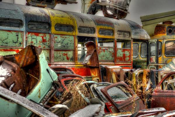 Photograph - Wonder Bus by Craig Incardone