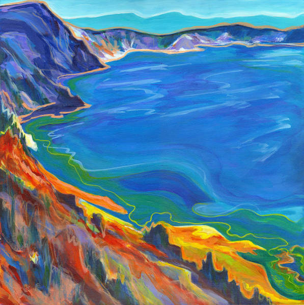 Painting - Wonder Lake  by Tanya Filichkin