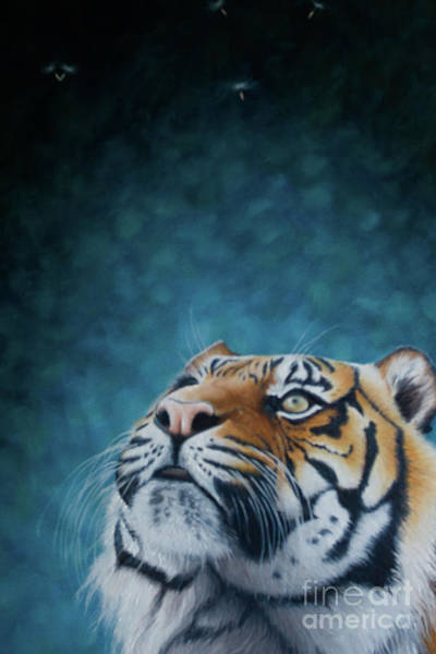 Dandilions Painting - Wonder by Pauline Sharp