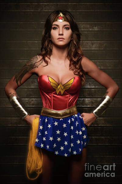 Cosplay Photograph - Wonder Woman by Jt PhotoDesign