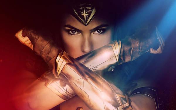 Supervillain Digital Art - Wonder Woman Movie Poster 2017 by Geek N Rock