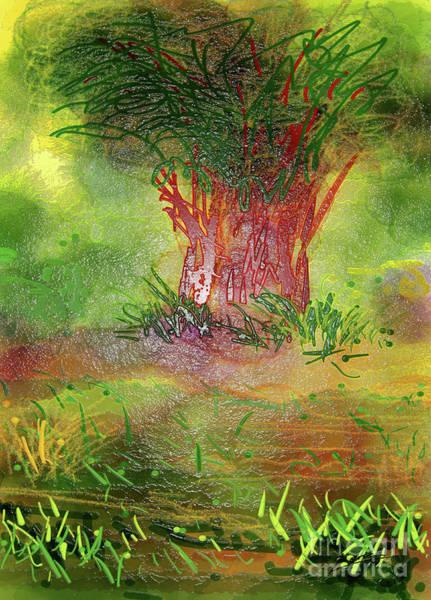 Digital Art - Wonder Woods by Lance Sheridan-Peel