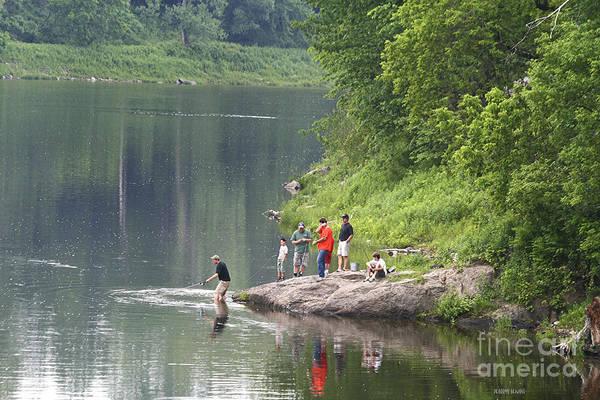 Photograph - Wonderful Day Of Fishing by Deborah Benoit