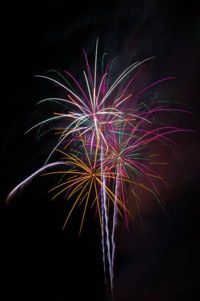 Dazzle Wall Art - Photograph - Wonderful Fireworks by Garry Gay