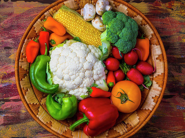 Wall Art - Photograph - Wonderful Fresh Vegetables by Garry Gay