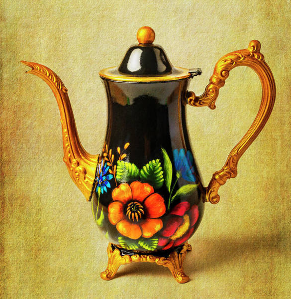 Wall Art - Photograph - Wonderful Painted Teapot by Garry Gay