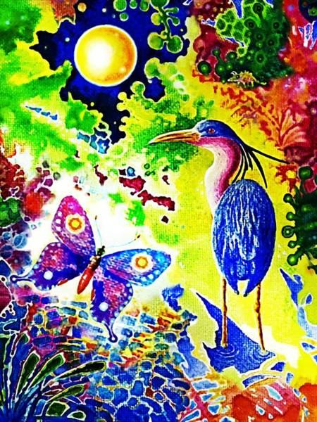 Painting - Wonderful  Wonderful Nature by Hartmut Jager