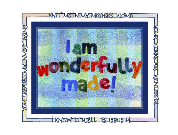 Artistry Painting - Wonderfully Made by Judy Dodds
