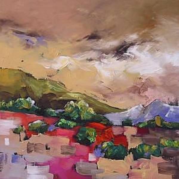 Fauve Painting - Wondrous by Linda Monfort
