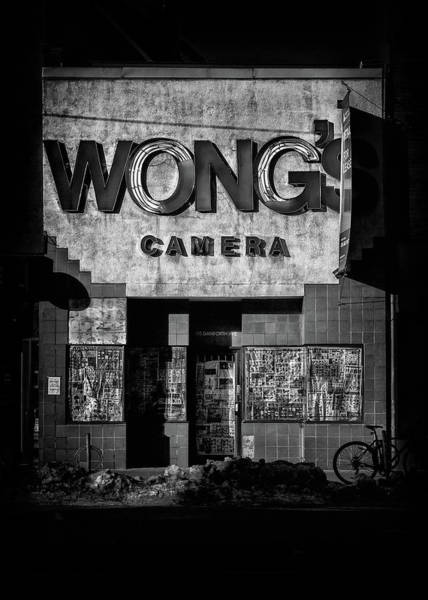 Photograph - Wong's Camera by Brian Carson