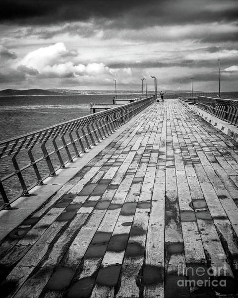 Wall Art - Photograph - Wood And Pier by Perry Webster