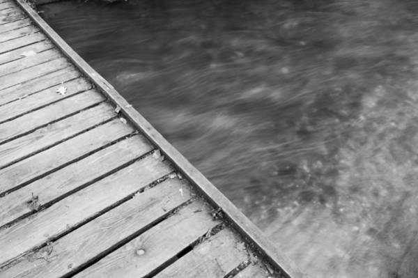 Photograph - Wood And Water I by Helen Northcott