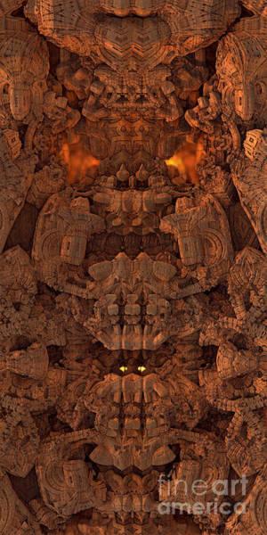 Digital Art - Wood Carving by Jon Munson II