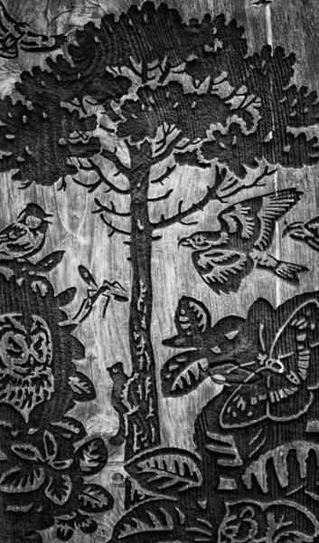 Wall Art - Photograph - Wood Carvings by Martin Newman