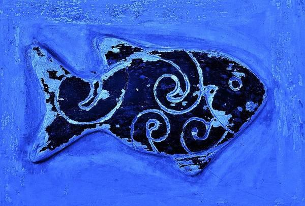 Photograph - Wood Fish 3 by Rob Hans