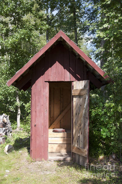 Wall Art - Photograph - Wood Outhouse by Jaak Nilson