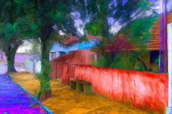 Digital Art - Wood Plank House In Rebelshire by Caito Junqueira
