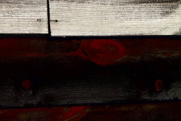 Photograph - Wood Planks 3 by Frank Romeo