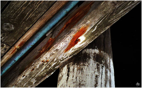 Photograph - Wooden Planks by Wayne King